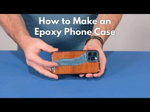 How to make an Epoxy Phone Case