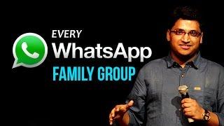 Every whatsApp Family Group | Gaurav Gupta | Comedy Munch