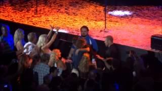 Arnel Pineda hugging fans, Irvine CA 8/2/14