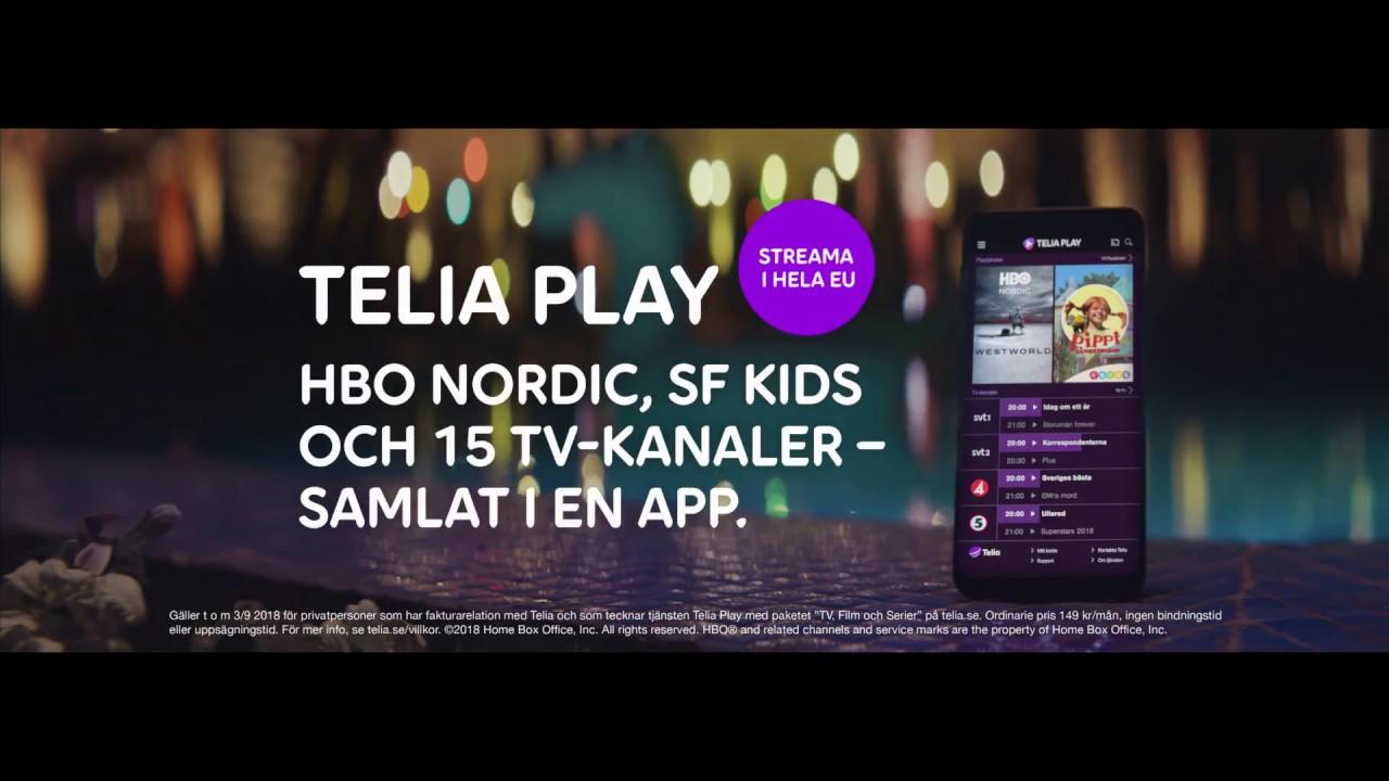 hbo nordic telia play