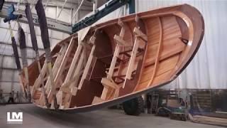 Lyman-Morse build Anna 65' custom modern classic