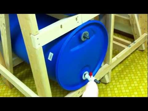 55 Gallon Water Storage: Part 2 - Building The Rack
