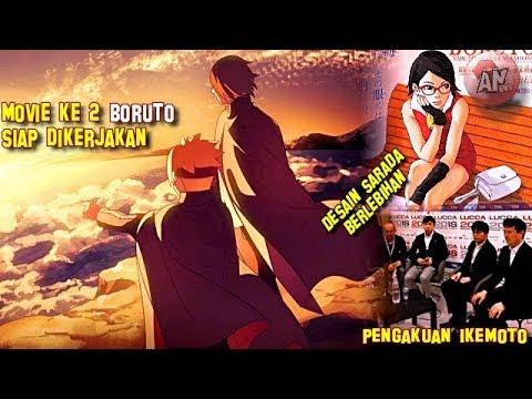 Movie Ke2 Boruto Siap Dikerjakan, Ikemoto Akui Desain Sarada Berlebihan   Interview Ikemoto Di Lucca