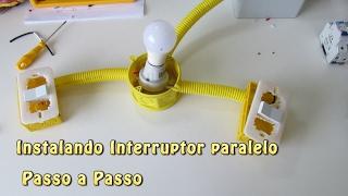 Como instalar interruptor paralelo - three way