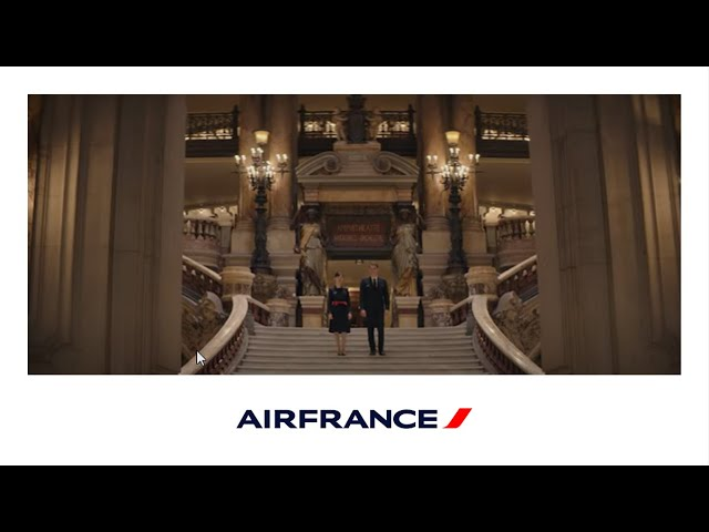 Air France  Unveils New Inflight Safety Video for Long Haul Flights From March 1st, 2021
