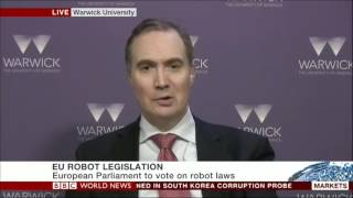 Live TV  BBC  on A.I., robotics and automation
