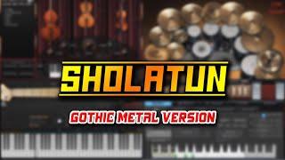 Video Sholatun Bissalamil Mubin (Gothic Metal Version) download MP3, 3GP, MP4, WEBM, AVI, FLV Agustus 2018