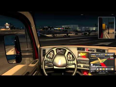 American Truck Simulator - Las Vegas to Bakersfield  (live Radio)