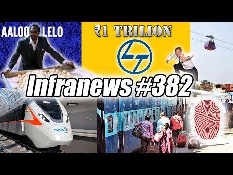 Infranews #382- L&T Reaches ₹1 TRILLION, POTATO Goes Brrr, Railways Biometric Syetem, RRTS UPDATE