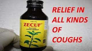ZECUF  Syrup Review / Relief in  All Kinds Of Coughs
