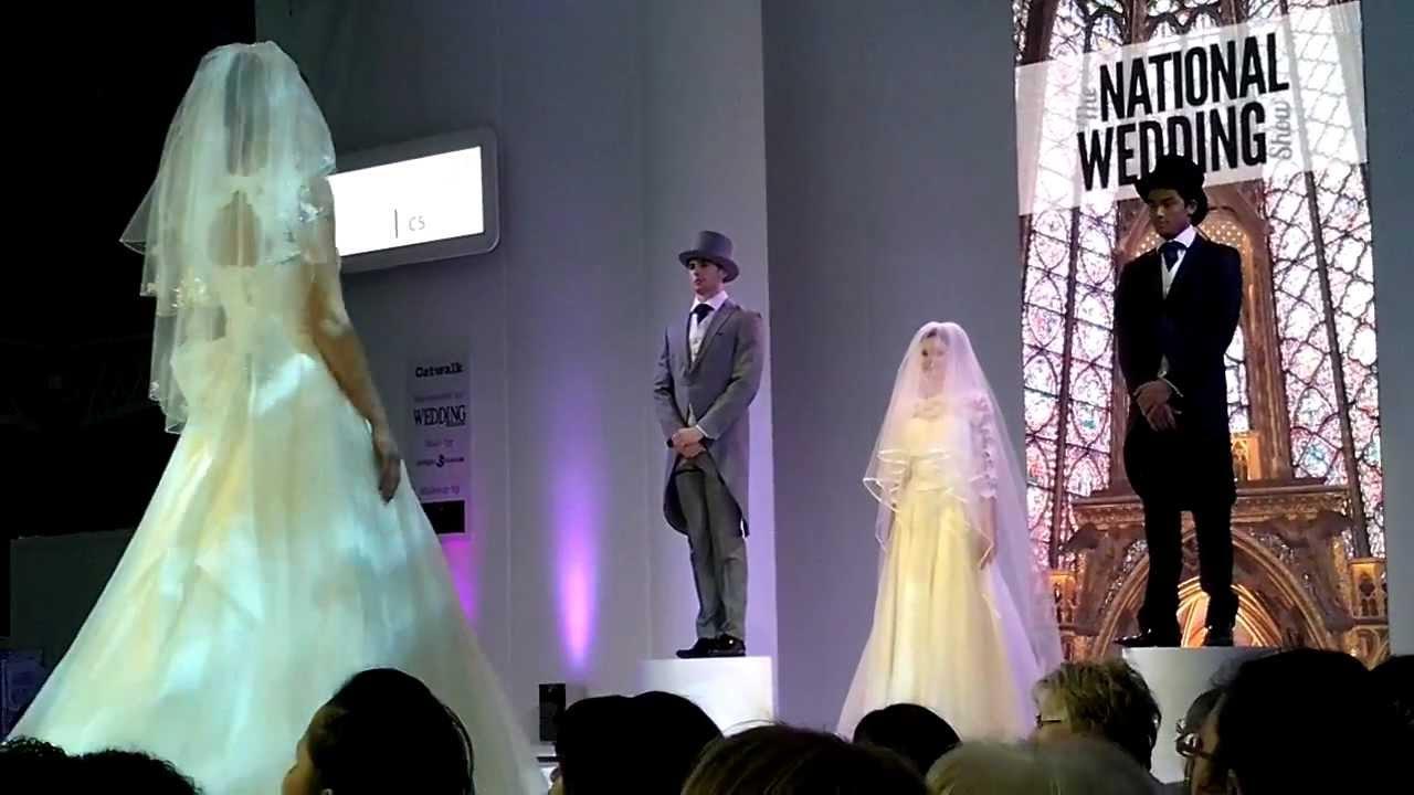 Bridal Catwalk at National Wedding Show Feb 2013 - London - YouTube