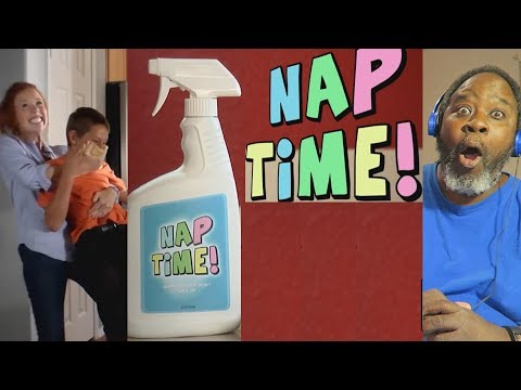 Dad Reacts to Nap Time!($1 you'll laugh in the first 37 secs)