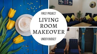 Small Budget Living Room Makeover | Budget Decor | Indian Living Room