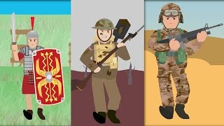 Soldiers through the ages