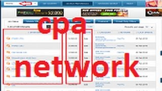 CPA network   One of the most powerful free tools for marketing CPA   and high profitability  offers