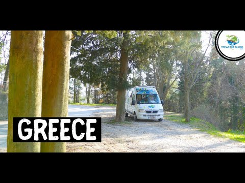 Arrival in Greece | VANLIFE Around the world travel series