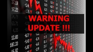 WARNING UPDATE - NEXT STOCK MARKET CRASH IS ABOUT TO START