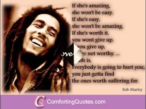 Bob Marley Love Quotes   Bob Marley Love Sayings About Love   YouTube