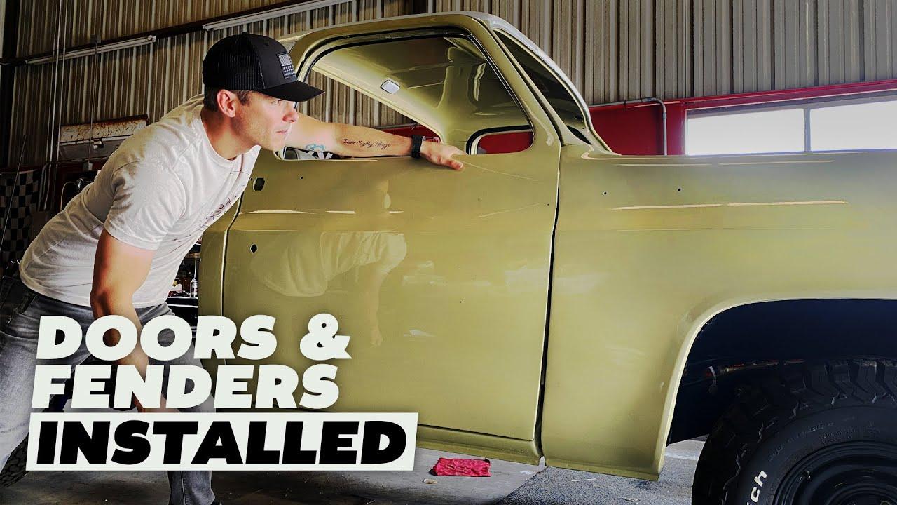 Restoring Earl Dibbles old truck (Part 20)