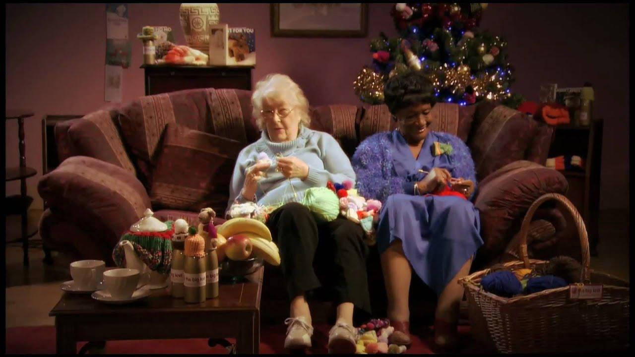Old Grandma Knitting : There s no one quite like grandma the big knit youtube