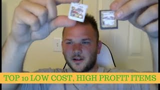 Top 10 Low cost, high profit margin, light weight items to resell on Ebay & Amazon