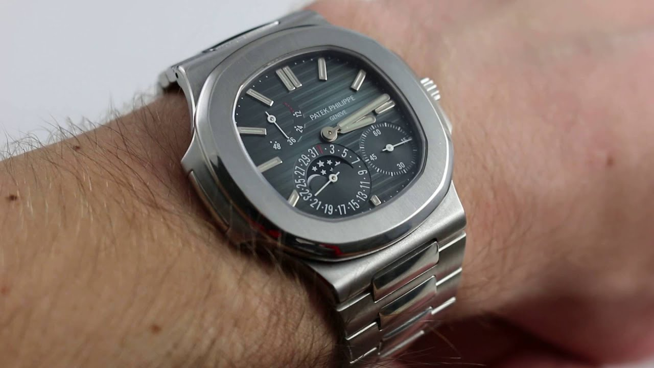 Patek Philippe Nautilus Ref 5712 1a Luxury Watch Review