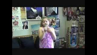 "Donnah Lisa Campbell age 9 Amazing & Incredible voice singing ""Memory"""