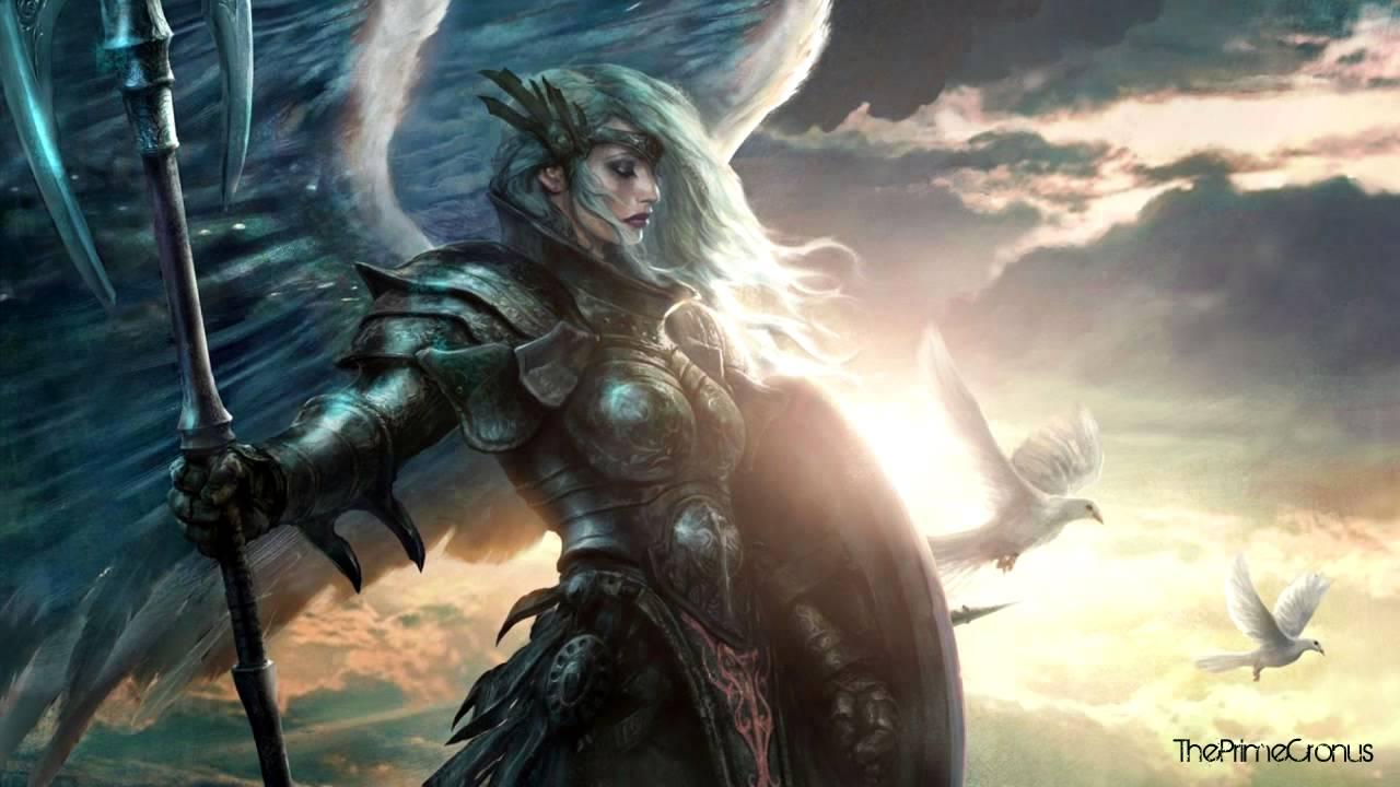 Warrior Fantasy Art Armor Angel Magic Wallpapers Hd: Skylar Cahn