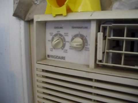 DISGUSTING Frigidaire window air conditioner filter YouTube