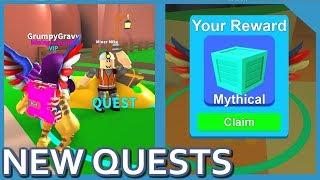 Riesiges Update!! Neue Quests + Verzauberungen in Roblox Mining Simulator