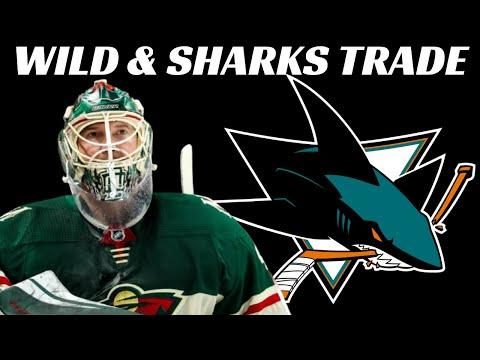 NHL Trade - Minnesota Wild Trade Devan Dubnyk to San Jose Sharks