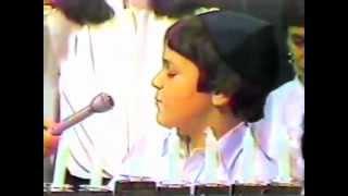 Rabbi Dan Ain explaining Hanukkah (at age 8)