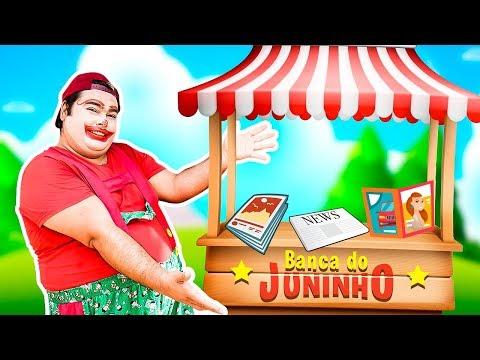 JUNINHO FINGIU Ser DONO De UMA BANCA De REVISTA ( HE PRETENDED TO OWN A MAGAZINE STAND )