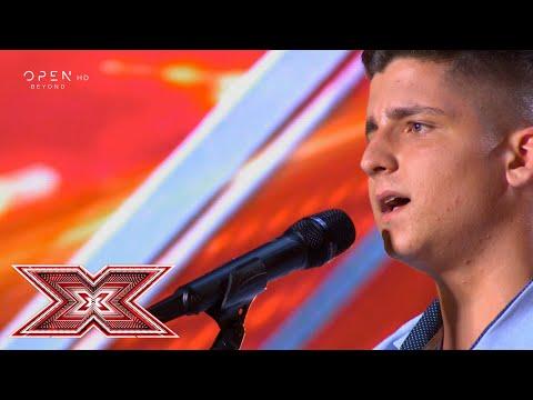 «Όλα σ' αγαπάνε» από τον Δημήτρη Χαλβατζή | Auditions | X Factor Greece 2019