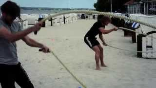 Körperwerft - HIIT Functional Training am Strand