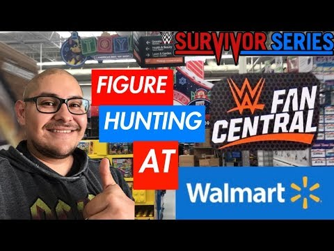 FIGURE HUNTING AT WALMART FOR NEW ELITES !!
