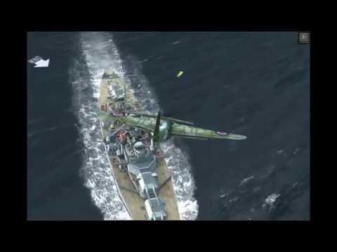 Atlantic Fleet - Aircraft Attacks