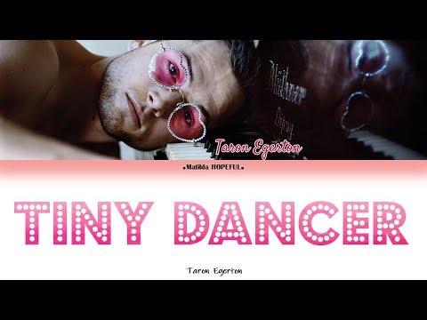 TARON EGERTON - 'TINY DANCER' (COLORED LYRICS/VISUALISER)