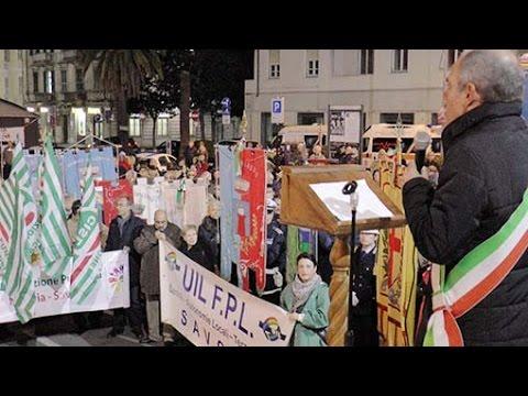 Manifestazione in piazza: video #1