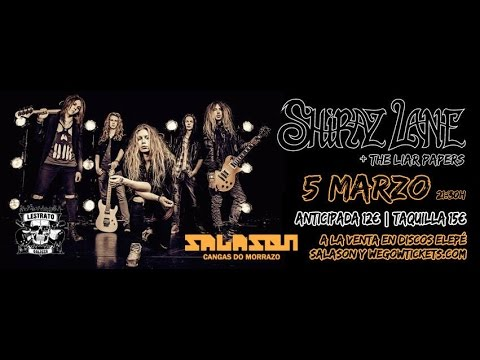 Shiraz Lane - Salason- 5/3/2017 - Full Concert