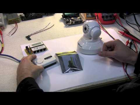 SuperHouseTV #9: DIY Power-over-Ethernet (PoE) for Foscam IP cameras