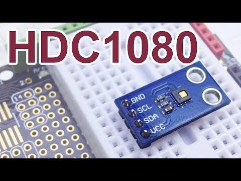 HDC1080. Точный датчик температуры и влажности