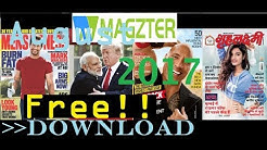 [old] How I could download Any Magazine from magzter [2017]