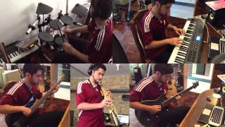 One of us is over 40 (not me) - Chick Corea Elektric band Cover - Carlos Mosquera
