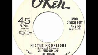 MISTER MOONLIGHT - Dr.Feelgood & the Interns [Okeh 4-7144] 1961