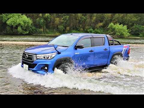 TOYOTA HILUX 2020 OFF ROAD TEST
