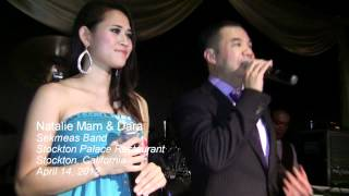 Natalie Mam & Dara sing a classic slow song  in Stockton, California