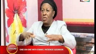 ONE ON ONE WITH EVANG PATIENCE OZOKWO  PART 1