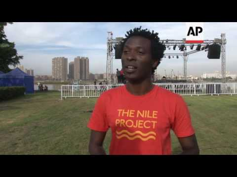 Nile Basin musicians perform at Cairo concert