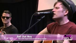 Fall Out Boy Young Volcanoes Bing Lounge